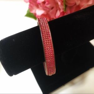Juicy Couture Hot Pink Rhinestone Bracelet